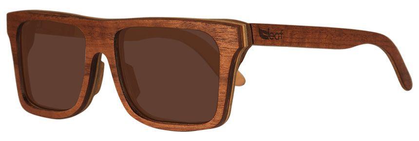 Óculos de Sol de Madeira Leaf Eco Beagle Imbuia