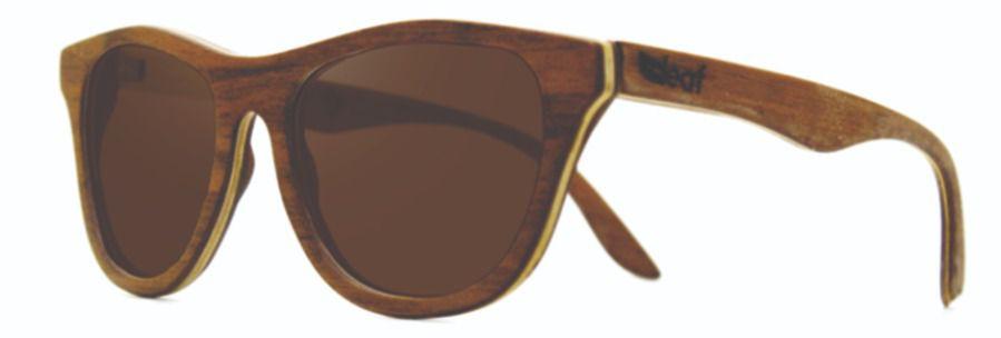Óculos de Sol de Madeira Leaf Eco Drop Imbuia