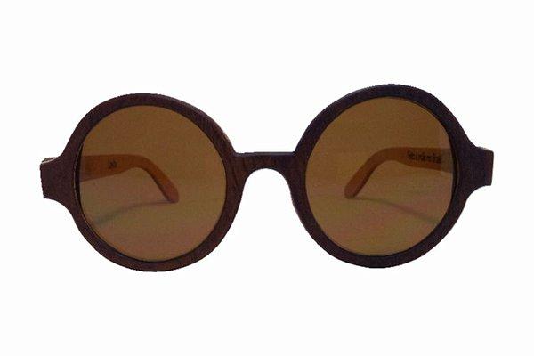 Óculos de Sol de Madeira Leaf Eco Layla Imbuia Maple