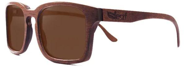 Óculos de Sol de Madeira Leaf Eco Louis Imbuia