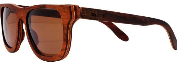 Óculos de Sol de Madeira Leaf Eco Roy Jacarandá