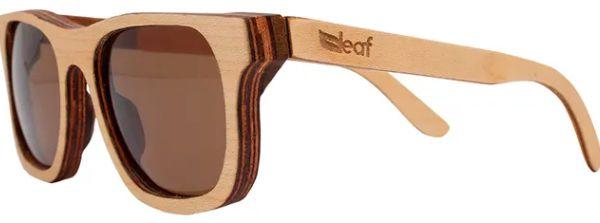Óculos de Sol de Madeira Leaf Eco Roy Maple
