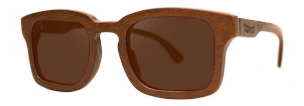 Óculos de Sol de Madeira Leaf Eco Baré Imbuia