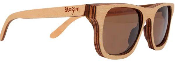 Óculos de Sol de Madeira Leaf Eco Rozini Roy Maple