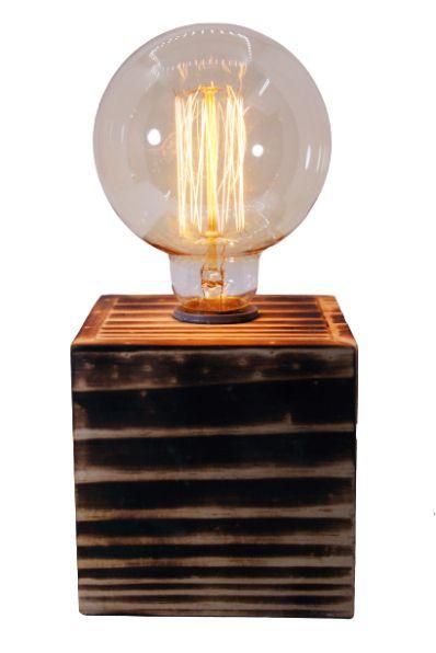 Kit Luminária Airosa + lâmpada vintage G95 40W
