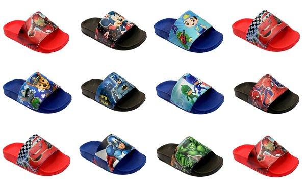 Slide infantil ATACADO  - Kit com 10 pares