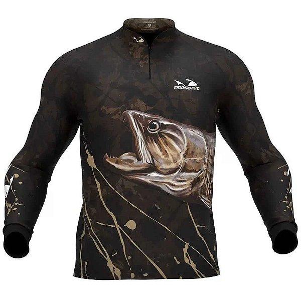 Camiseta de Pesca Presa Viva Traira 04 - G