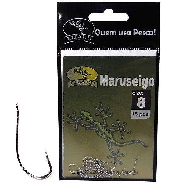 Anzol Lizard Maruseigo N 8 c/ 15 un. Lf3ma8