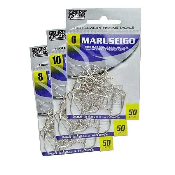 150 Anzol Marine Sports Maruseigo Nickel - 06,08,10