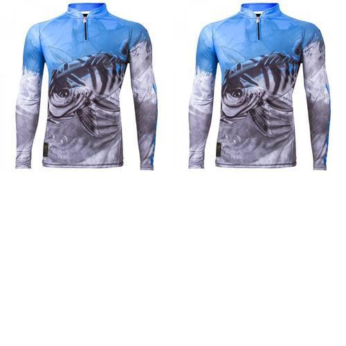 2 Camiseta de Pesca King Viking 06 - tam: GG