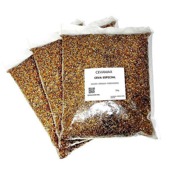 3 Cevamax Quirela Milho + Sangue + Feromonio Ceva Especi2 kg