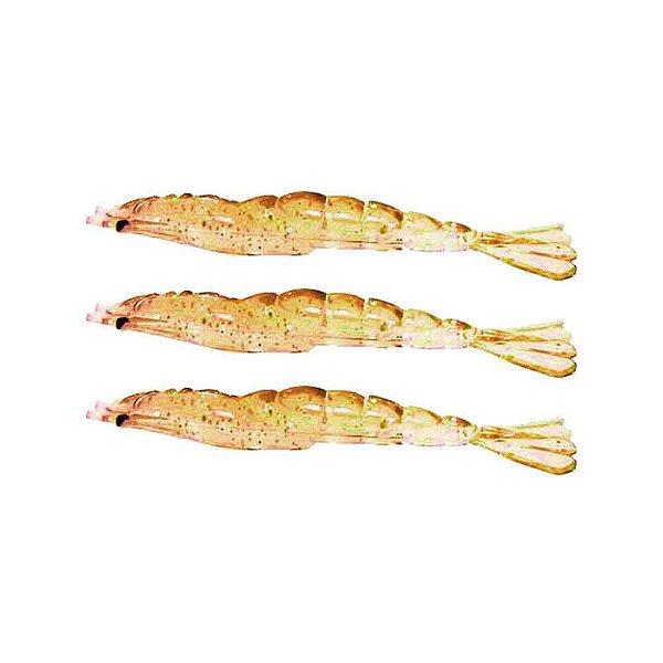 3 Isca artificial Camarão JET Shrimp Nihon 8,7cm - 07 DOURAD