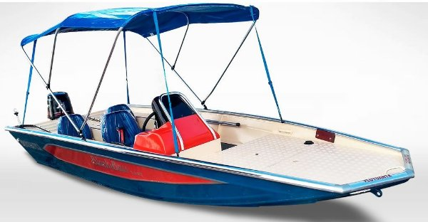 Barco Black Bass MT 5.0 (c/ comando) Indicação motor 40 a 60HP - Casco a partir de R$ 16.425,00