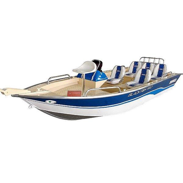 Barco Black Fish 17 c/ Comando - Casco a partir de R$ 22.340,00
