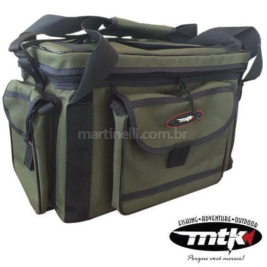 Bolsa de Pesca MTK Standard G - verde musgo