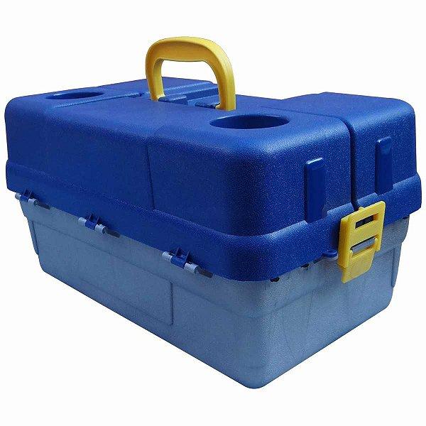 Caixa Hi 6 Bandejas Preto Cx-6 bjg Color Azul