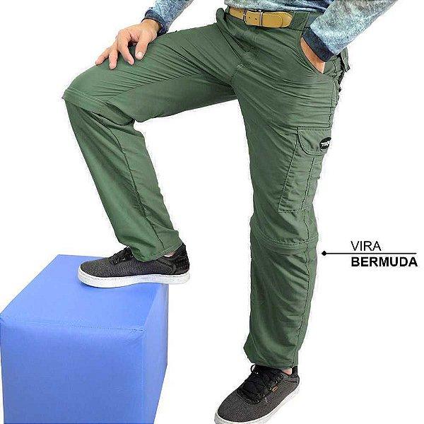 Calça - Bermuda MTK Tuareg Tam: 50 - verde
