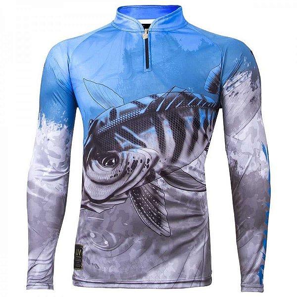 Camiseta de Pesca King KFF106 Viking 06 - tam: EX