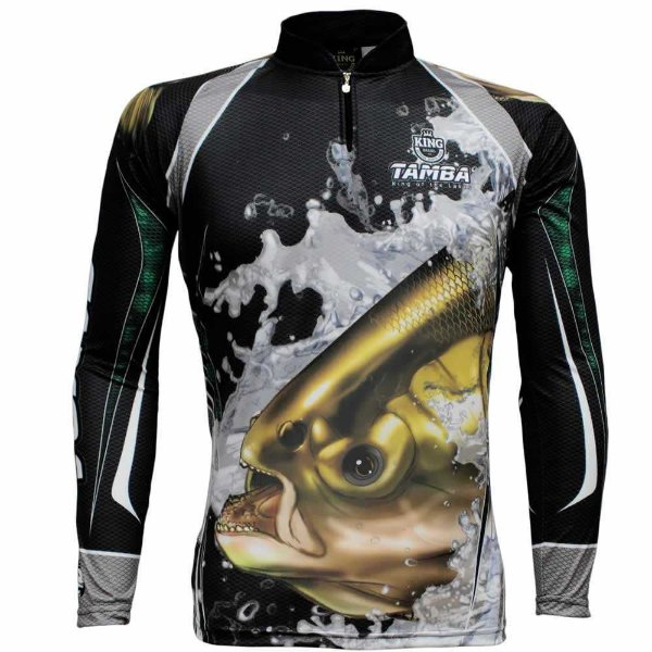 Camiseta de Pesca King Sublimada Kff 304 - Tam. EX
