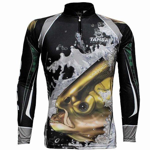 Camiseta de Pesca King Sublimada Kff 304 - Tam. G