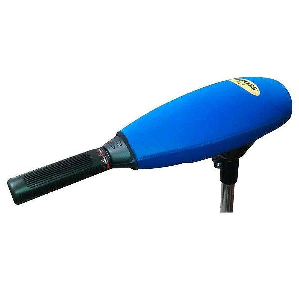Capa p/ motor elétrico Gross Fish Azul - Aprazível