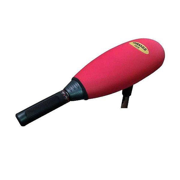 Capa p/ motor elétrico Gross Fish vermelho - Aprazível