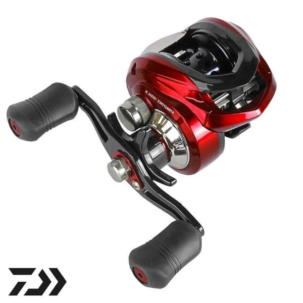 Carretilha Daiwa Strikeforce 100SH 8 Rolamentos - Direita