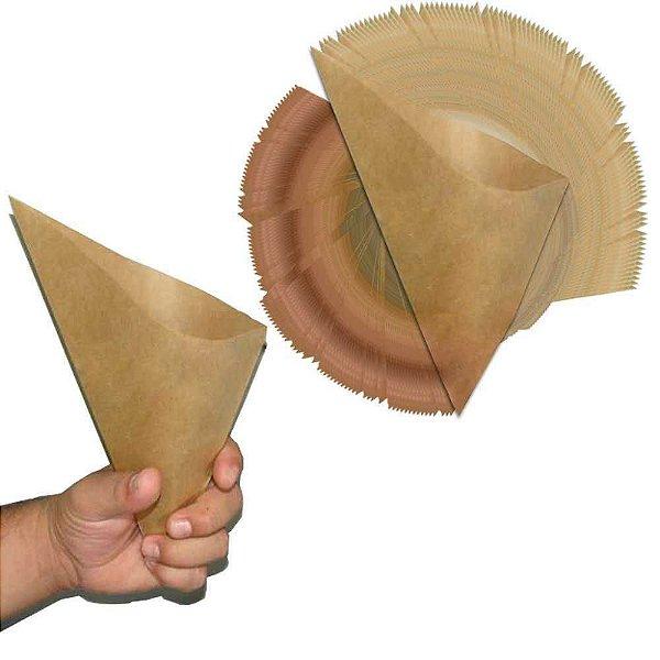 Copo de papel para pesca de Piaparas c/ 50 und. Ecológico