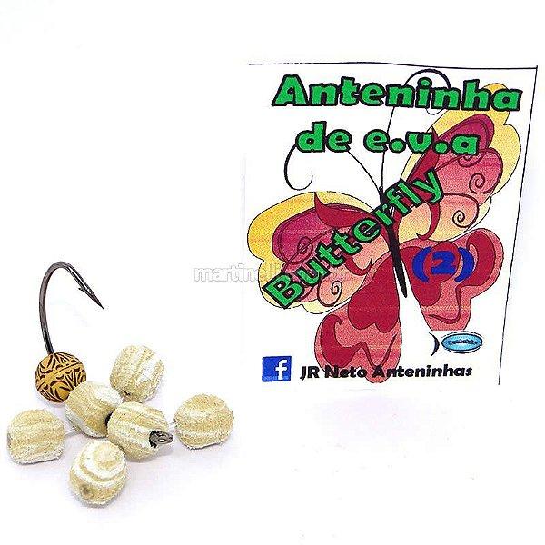 Isca artificial JR Neto Anteninha Butterfly 02