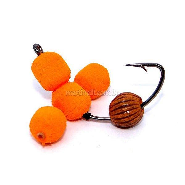 Isca artificial JR Neto Anteninha Sorocaba laranja