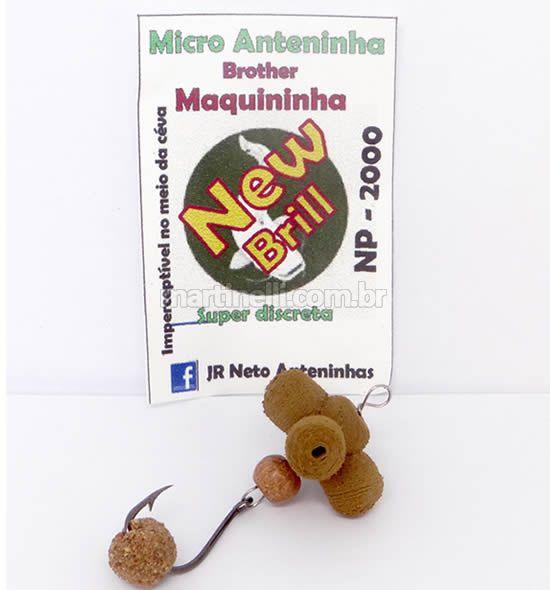 Isca artificial JR Neto micro anteninha NP-2000