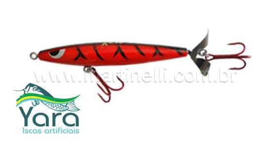 Isca artificial Yara Devassa 140mm 35gr Cor: Hallowen