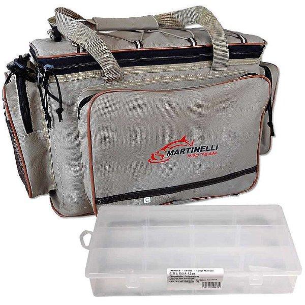Kit Martinelli: Bolsa de apetrechos Martinelli Pro Team G + Estojo Emifran EP-040 multiuso