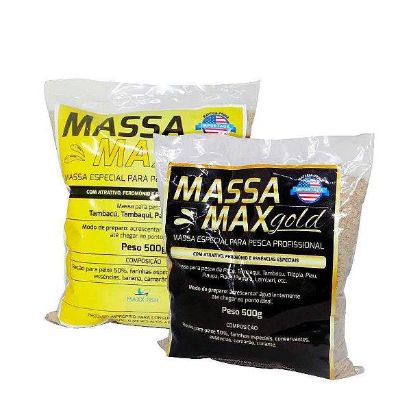 Kit Massa Max - Extreme + Gold
