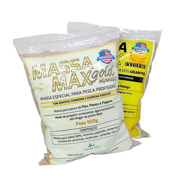 Kit Massa Max - Gold Especial + Extreme