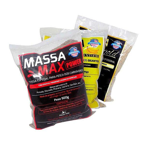 Kit Massa Max - Power + Extreme + Gold
