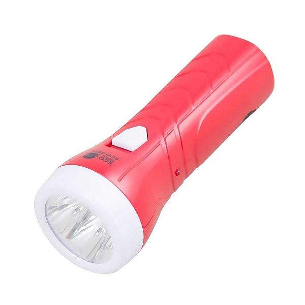 Lanterna recarregável 4 LED ECO-8621 - Eco-Lux