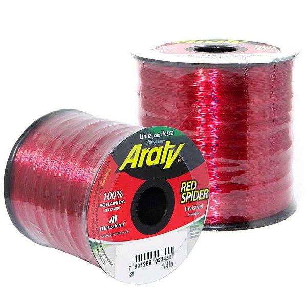 Linha Araty Red Spider 0,40mm c/ 719 m