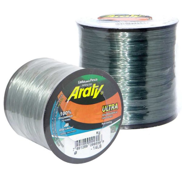 Linha Araty Ultra Fume 0,55mm c/ 390 m