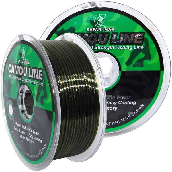 Linha Monofilamento Camou Line 0,25mm 300m