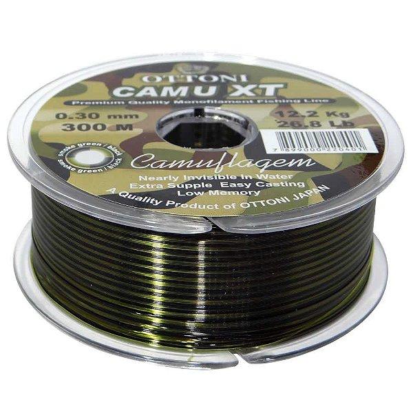 Linha Monofilamento Camu XT 0,35mm - 270m