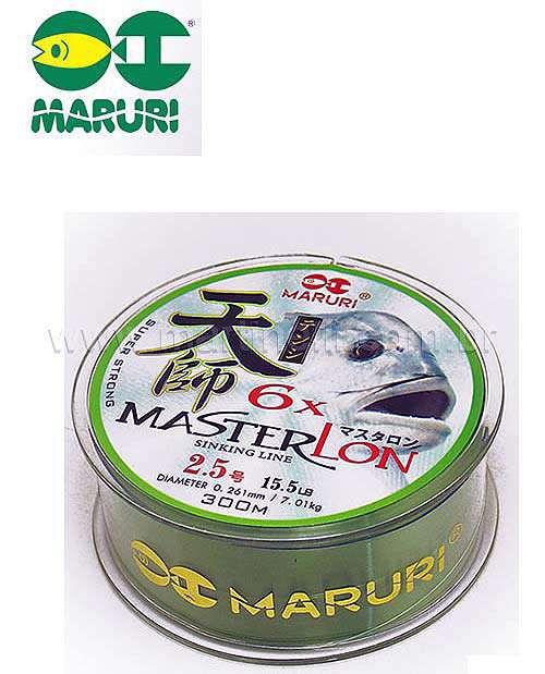 Linha monofilamento Maruri Master Lon 8.0 0,467mm 46 lbs 300m