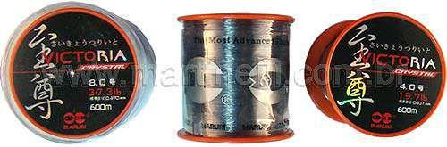 Linha Monofilamento Maruri Victoria Crystal 0,331mm 600m