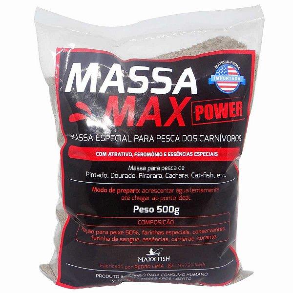 Massa Max Extreme 500gr - Pintado Dourado Pirarara Cachara Cat-fish Etc