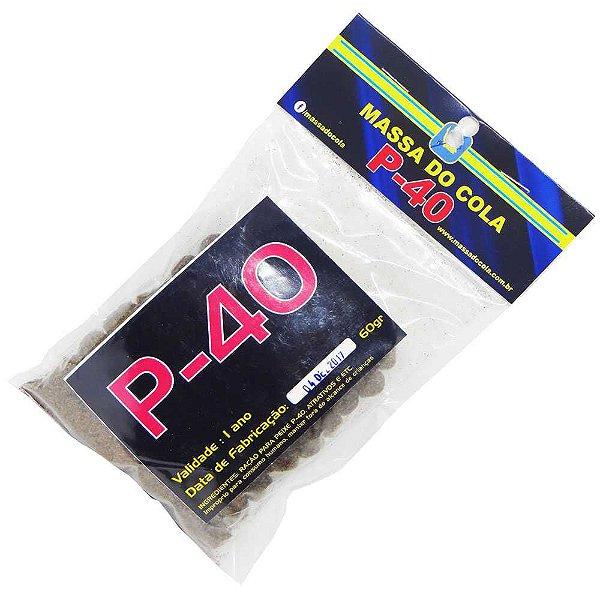 Massa para pesca Do Cola Ração P40 - 60 gramas