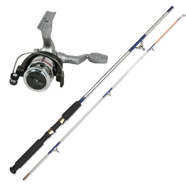 Molinete Marine Sports Jimmy 100... + Vara MS Flipper PS-562M - 8-17lb - ...