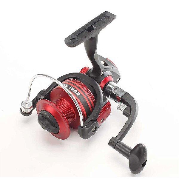Molinete Pesca Brasil Rubi Rb4000 Com 3 Rolamentos