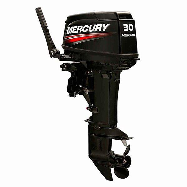 Motor de popa Mercury  30 HP 2T - 0 Km Partida elétrica original Preço Produtor Rural e PJ