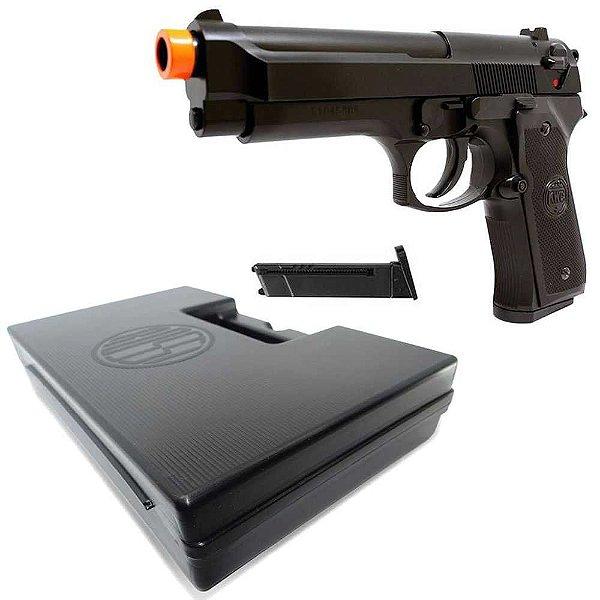 Pistola Airsoft KWC M92 Beretta Spring + Maleta Case Rossi