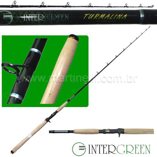 Vara Intergreen Turmalina - 20-60lbs - 1,95m - 65YH-1